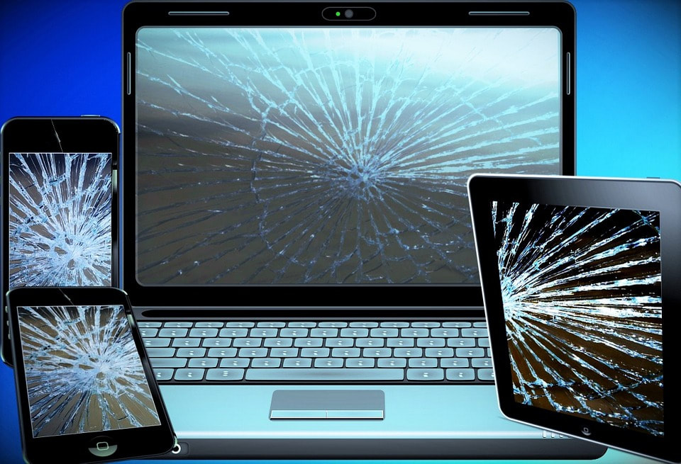 Replace broken laptop, cell phones and tablet screens.